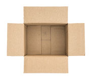 Packed or hidden inside a cardboard packaging box Royalty Free Stock Photos