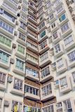 Packed Hong Kong housing Royalty Free Stock Photo