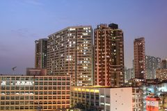 Packed housing in Hong Kong Royalty Free Stock Images