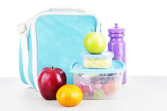 A packed lunch Stock Image