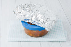 Packed lunch Royalty Free Stock Photos