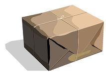 The packed parcel Royalty Free Stock Images