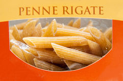 Packed pasta Royalty Free Stock Photography