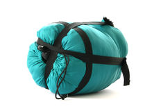 Packed sleeping-bag Stock Photo