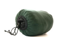 Packed sleeping-bag Royalty Free Stock Photos