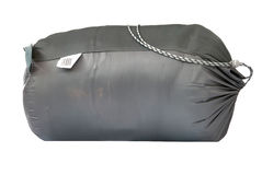 Packed sleeping-bag Stock Image