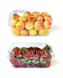 Packed summer fruits Stock Images