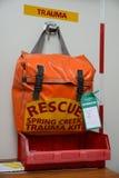 Packed trauma kit Royalty Free Stock Photography