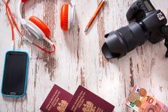Packen für Reise Stockbild