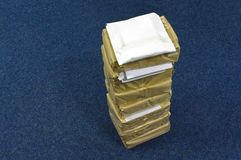 packepapper Fotografering för Bildbyråer