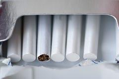 packesigarettes Arkivbilder