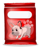 A packet of dogfood Royalty Free Stock Image