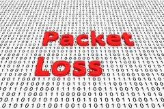 Packet loss Royalty Free Stock Photography