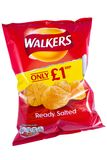 Packet of Walkers Crisps Stock Photo