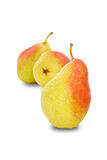 Packhams pear 2 Royalty Free Stock Photography