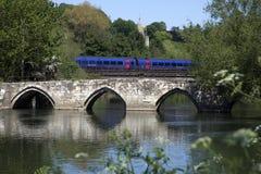 Packhorse Bridge. Bradford-on-Avon Wiltshire Stock Images