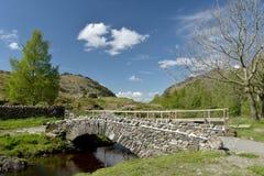 Packhorse bridge at Watendlath. English Lake District Royalty Free Stock Photo