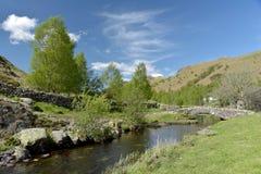 Packhorse bridge at Watendlath. English Lake District Royalty Free Stock Image
