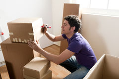 Packing Royalty Free Stock Images