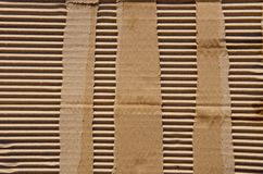 Packing box wall background. Stock Image