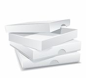 Packing boxes Royalty Free Stock Photo