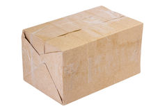 Packing. carton box, isolated Royalty Free Stock Photo