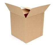 A packing carton Royalty Free Stock Photography