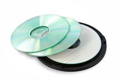 Packing CD Royalty Free Stock Image