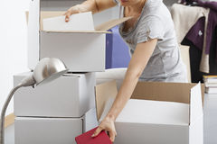 Packing fever Stock Images