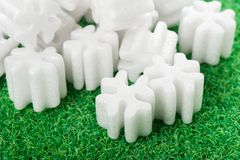 Packing foam Royalty Free Stock Images