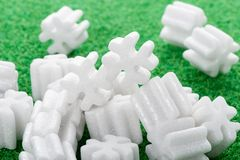 Packing foam Royalty Free Stock Photography