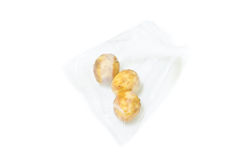 Packing fried peanut Royalty Free Stock Image