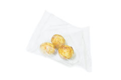 Packing fried peanut Royalty Free Stock Photos