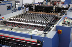 Packing machine. Stainless steel packing machine Royalty Free Stock Photos