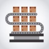 Packing machine Royalty Free Stock Image