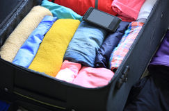 Packing for new journey Stock Photography