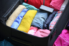 Packing for new journey Royalty Free Stock Photography
