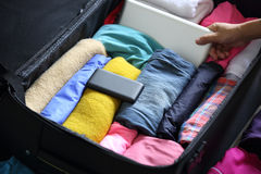 Packing for new journey Stock Images