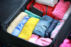 Packing for new journey Stock Image