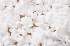 Packing peanuts Stock Image