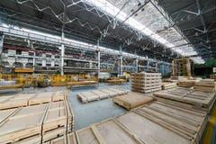 Packing sheets of aluminum Stock Photos
