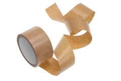 Packing Tape. On White Background Stock Photography