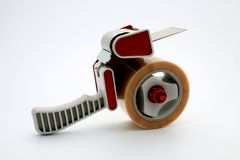 Packing tape dispenser Stock Photos