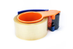 Packing Tape Dispenser and Adhesive Tape Royalty Free Stock Photography