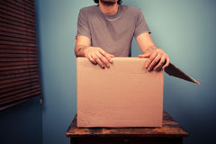 Packing up Stock Image
