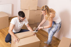 Packing Stock Image