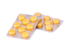 Packings of pills Stock Photo