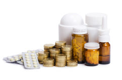 Packs of pills - abstract medical Stock Photography