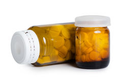 Packs of pills - abstract medical Stock Image