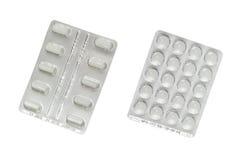 Packs of pills Royalty Free Stock Photo